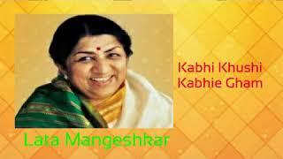 Gambar cover Kabhi Khushi Kabhie Gham  |  Lata Mangeshkar