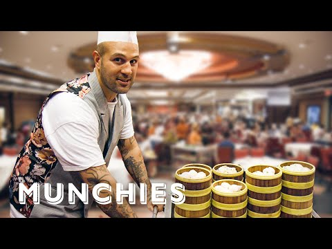 Making Dim Sum For 3,000 People - A Frank Experience