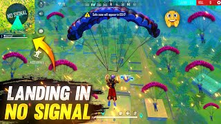 Solo Vs Squad Best Moments in Garena Free Fire  - Tonde Gamer Landing in No Signal Area