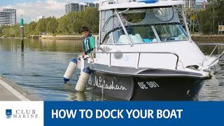 How to dock your boat with Alistair McGlashan