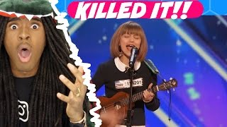 America's Got Talent 2016 Grace VanderWaal 12 Y.O. Singer Songwriter Full Audition Clip