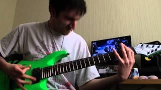 Djent/Arabic Monorithms guitar playthrough