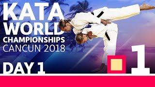 IJF Kata World Championships 2018: Day 1