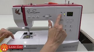Affordable Sewing Machine Overview with Leah Day - Eversewn Sparrow 20