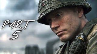 CALL OF DUTY WW2 Walkthrough Gameplay Part 5 - Rousseau - Campaign Mission 4 (COD World War 2)