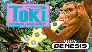 Toki: Going Ape Spit REVIEW for Sega Genesis | Better Than The Arcade | Rewind Mike