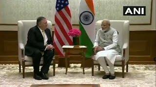 Mike Pompeo meets PM Modi, EAM S Jaishankar, Ajit Doval in New Delhi