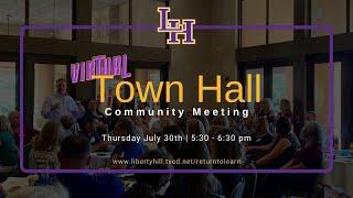LHISD Virtual Town Hall