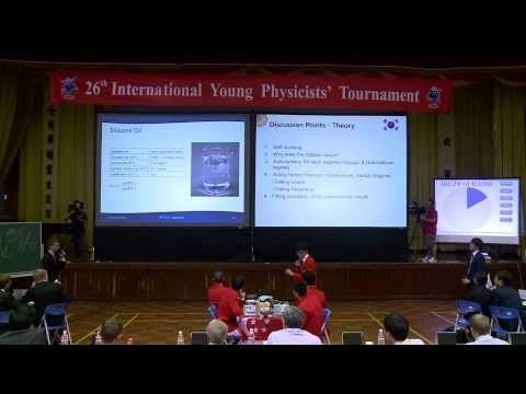 2013 IYPT _ Final
