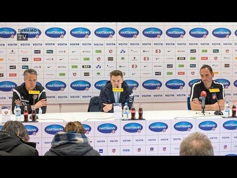 10. Spieltag   FCH - SGD   Pressekonferenz nach dem Spiel
