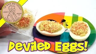 White Chocolate Deviled Eggs - 2014 Easter Series