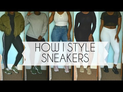 HOW I STYLE SNEAKERS | Temi O.
