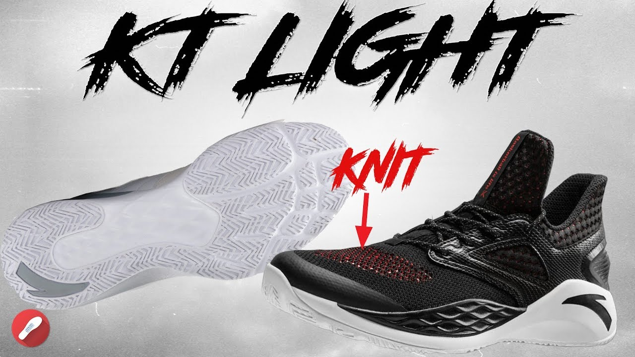ee260ba0fae Anta KT (KLAY THOMPSON) Light First Impressions! - YouTube