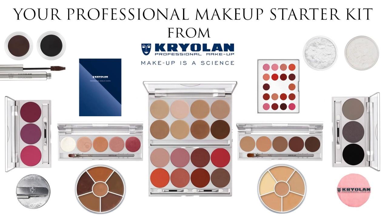 Your Professional Makeup Starter Kit Kryolan