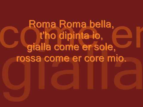 ROMA ROMA ROMA - LYRICS ( + FOTO)