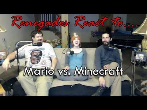 Renegades React to... Mario vs. Minecraft