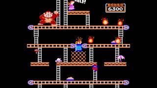 Arcade Game: Donkey Kong (1981 Nintendo)