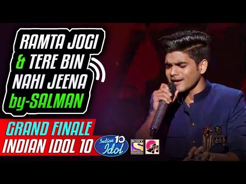 Ramta Jogi - Tere Bin Nahi Jeena - Salman Ali - Indian Idol 10 - Grand Finale - Neha - 22 Dec 2018