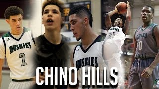 Lonzo, LaMelo & LiAngelo Ball LEAD #1 TEAM! PRIME Chino Hills BEST HIGHLIGHTS From Undefeated Season