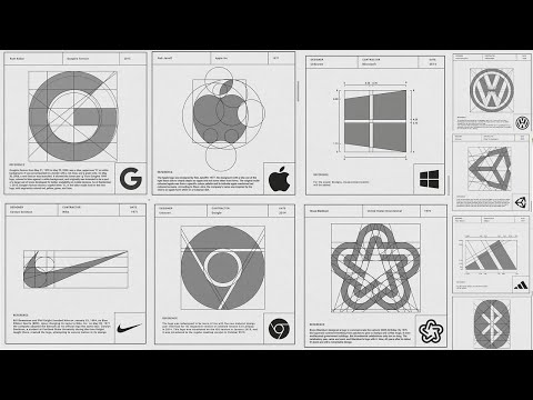 28 Famous Brands Seen From A designers angle | The Anatomy of a Logo Design | The Idea | Letterforms