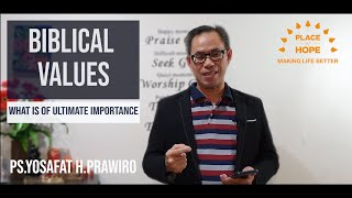 POH Online Service 28 June 2020 - BIBLICAL VALUES
