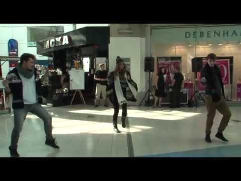 Autumn Fashion Flash Mob Shows At Fishergate Shopping Centre, Preston