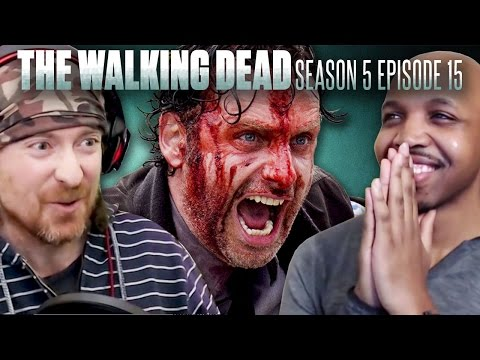 "The Walking Dead: Season 5 Episode 15 ""Try"" Fan Reaction Compilation!"