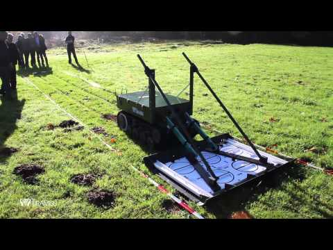 [TIRAMISU] UGV and metal detector test in DOVO military base
