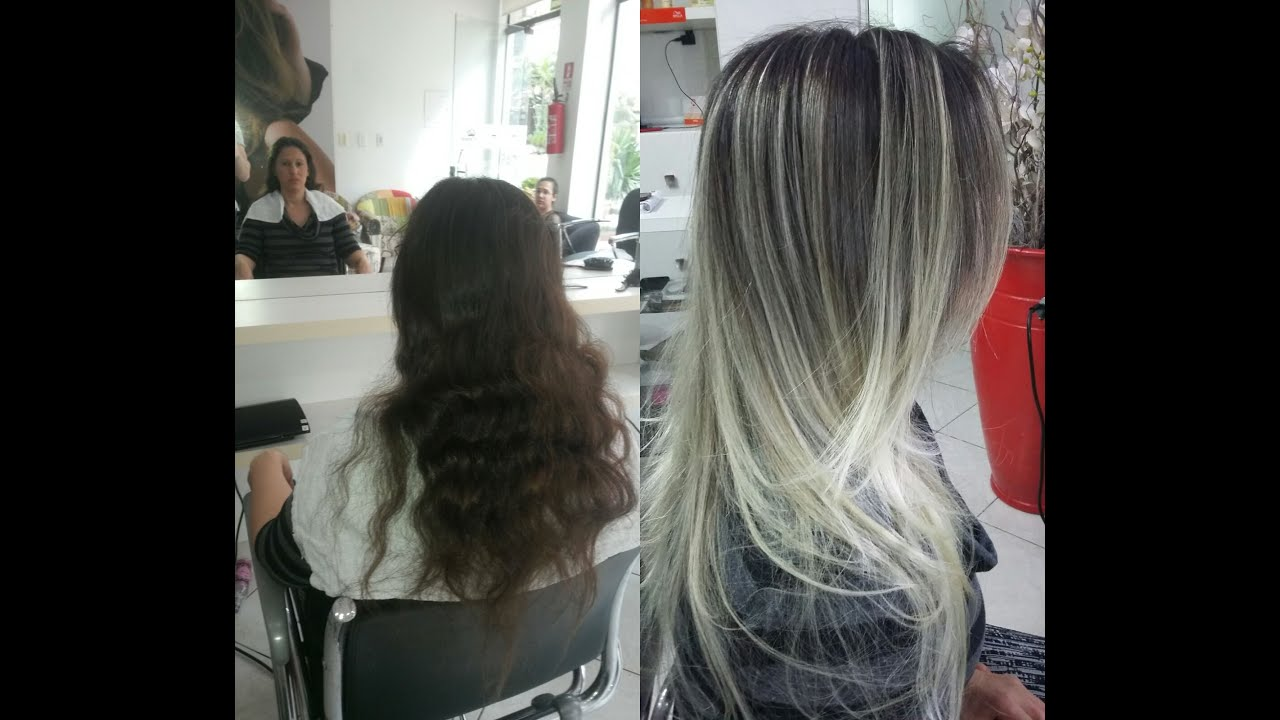 how to get rid of ombre hair at home