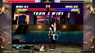 REO vs. 995 Phil N64 MK Trilogy Casuals - Tom Brady on the Mic - 2 / 12
