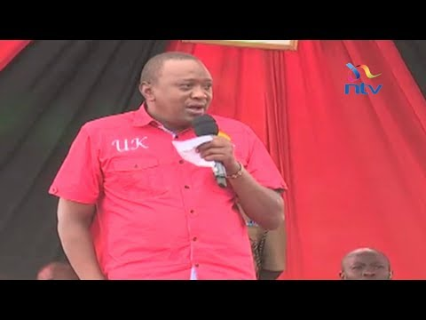 President Uhuru assures Kalenjins his Deputy William Ruto will succeed him