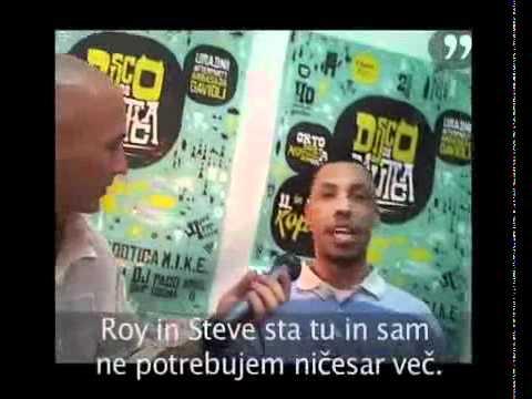 "Part 2/3 - Steve ""Silk"" Hurley, Roy Davis Jr. & DJ Skip Live interview in Slovenia"