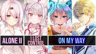 Download [Switching Vocals] - Alone II ✘ Lost Control ✘ On My Way | Alan Walker (Walker The Fox 126 YT)