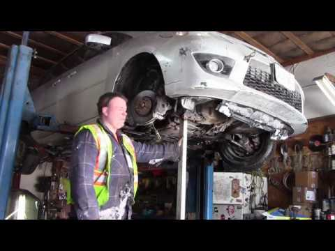Lower Ball Joint >> mazda 5 lower controal arm replace, lower ball joint replace - YouTube