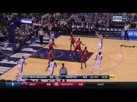 Marc Gasol vs New Orleans Pelicans 15.02.2017 (15Pts)