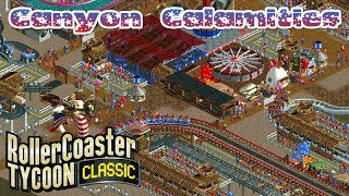 Canyon Calamities | North America | Rollercoaster Tycoon Classic | Wacky Worlds | Let's Play