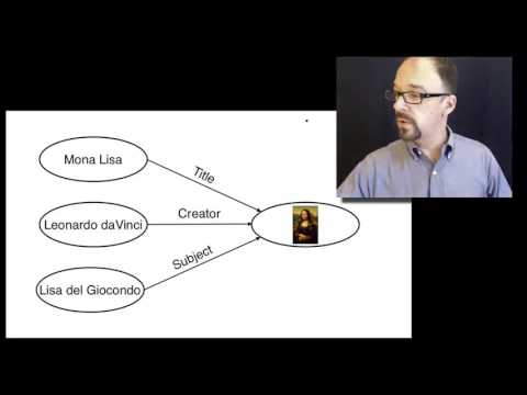 Metadata MOOC 3-8: Resource Description Framework (RDF)