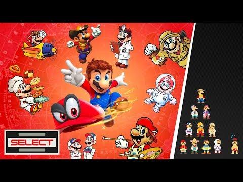 Select #11 -  L'origine des costumes de Mario Odyssey