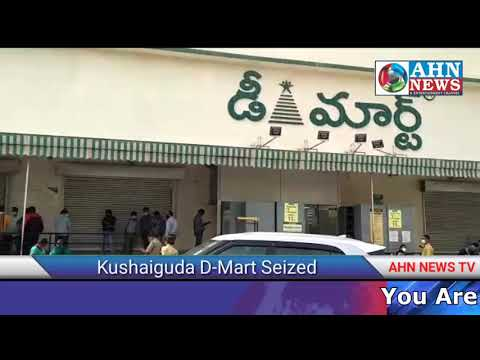 Health & GHMC Department Seized Kushaiguda D-Mart A Complaint By Customer on Worms Filled Dates