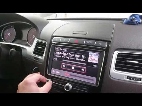VW Touareg NF: трёхполосная аудиосистема с сабвуфером.