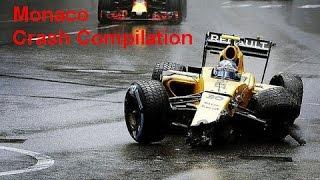 Monaco Crash Compilation 2016