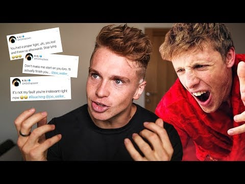 REACTING TO KSI TWITTER BEEF & W2S NEW DISS TRACK