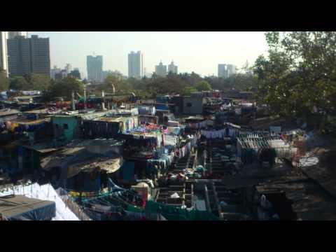 South Mumbai's Attraction - Dhobi Ghat, A Biggest Open Laundromat at Mahalaxmi