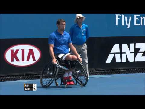 Men's Wheelchair Singles Championship | Australian Open 2016 - Reid vs Gerard