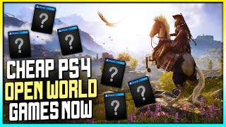 10 BIG OPEN WORLD PS4 GAMES FOR CHEAP NOW - PS4 OPEN WORLD DEALS