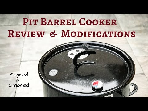 Pit Barrel Cooker Review and Modifications
