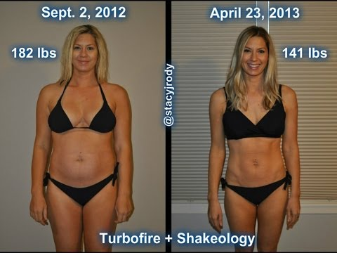 Weight Loss Transformation! Before and After using Turbofire!