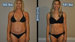 Weight Loss Transformation! Before and After using Turbofire! A Woman