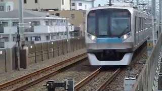 東京メトロ東西線 05系第27編成 通勤快速 行徳駅通過