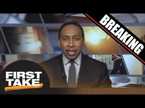 Breaking News: Stephen A. Smith reacts to FBI probe into college basketball   First Take   ESPN